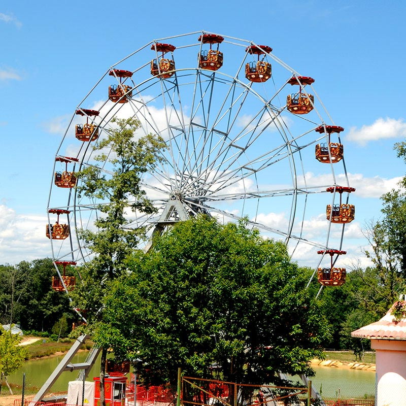 Attraction grande roue