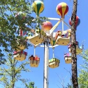Attraction les montgolfières